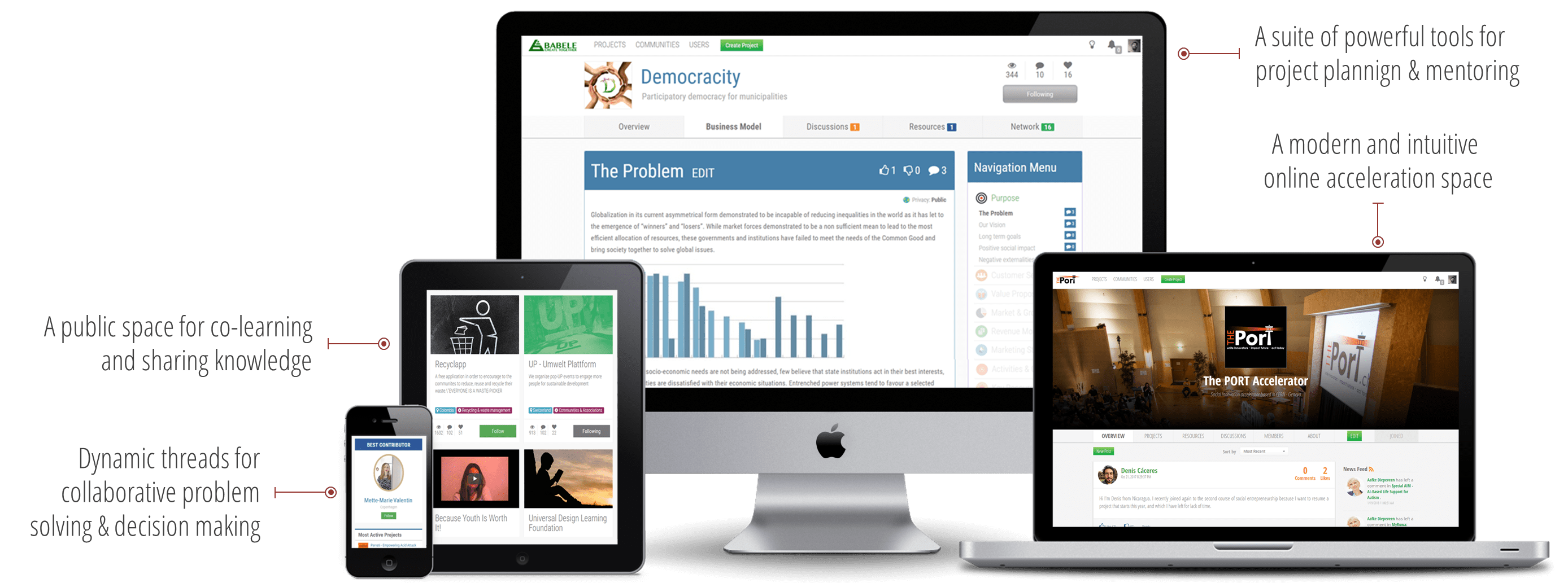 Babele - Online Crowd Innovation tools for strategic